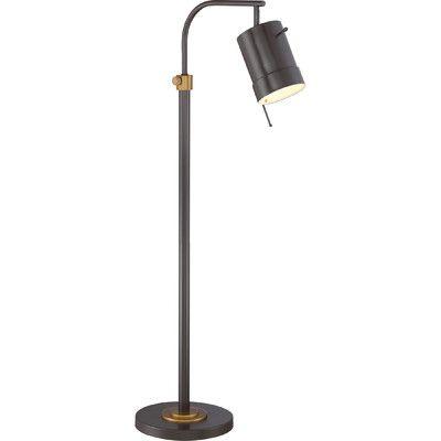 """Brayden Studio Licata 57"""" Arched Floor Lamp"""