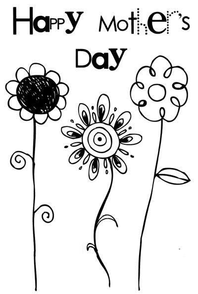 It S Spring It S Almost Mother S Day Flowers Are Blooming The Sun Is Shining Life Is Mothers Day Card Template Mothers Day Coloring Pages Happy Mothers Day
