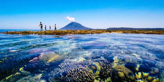 Bunaken Pariwisata Taman Nasional Kota Manado