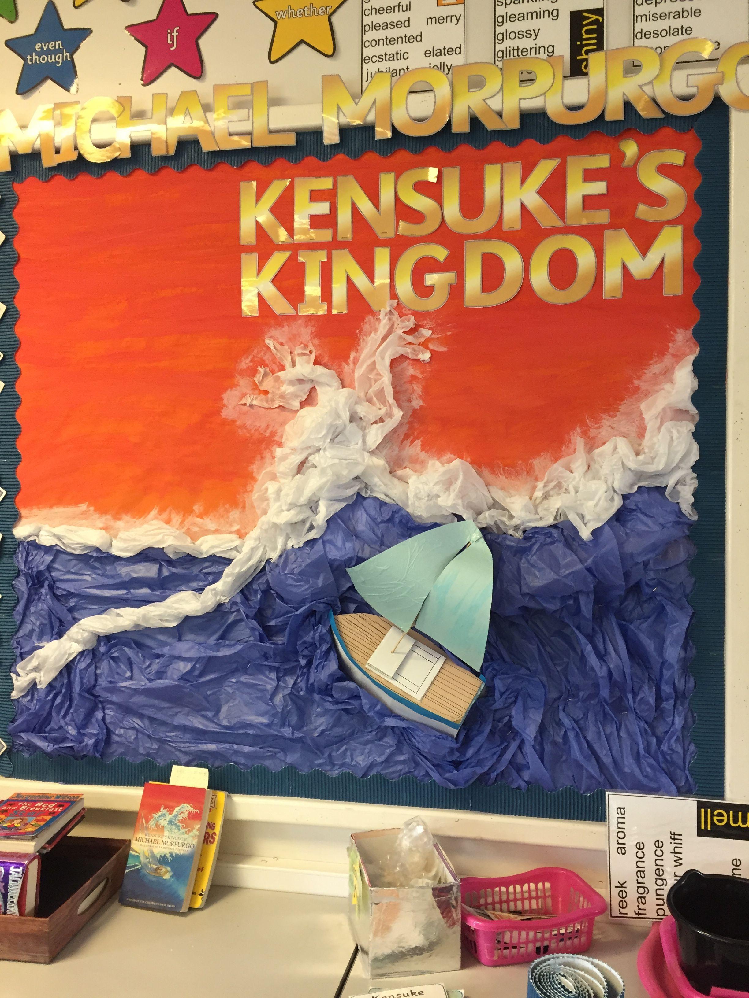 Kensukes Kingdom Michael Morpurgo 3d Display