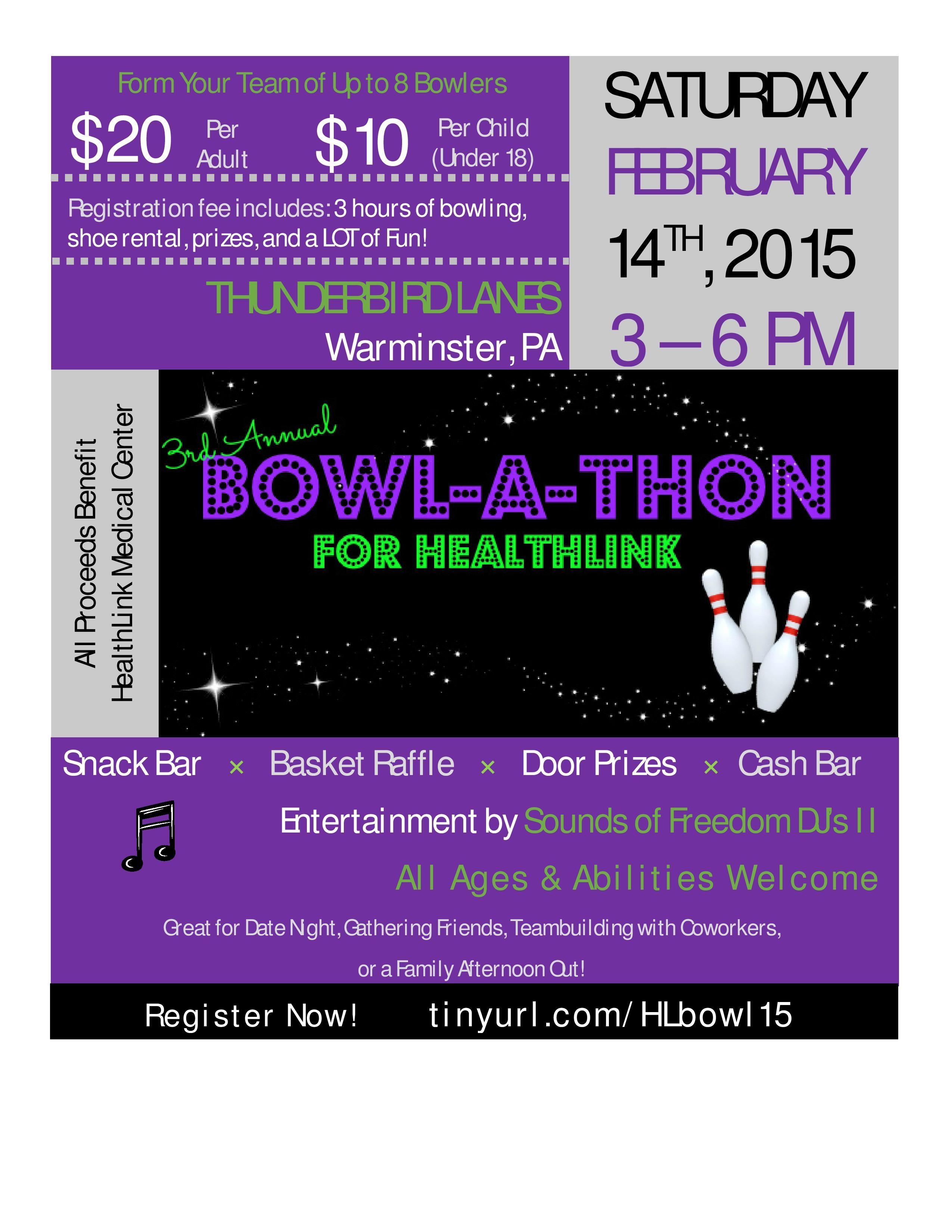 Our  Flyer  BowlAThon Fundraiser    Fundraising