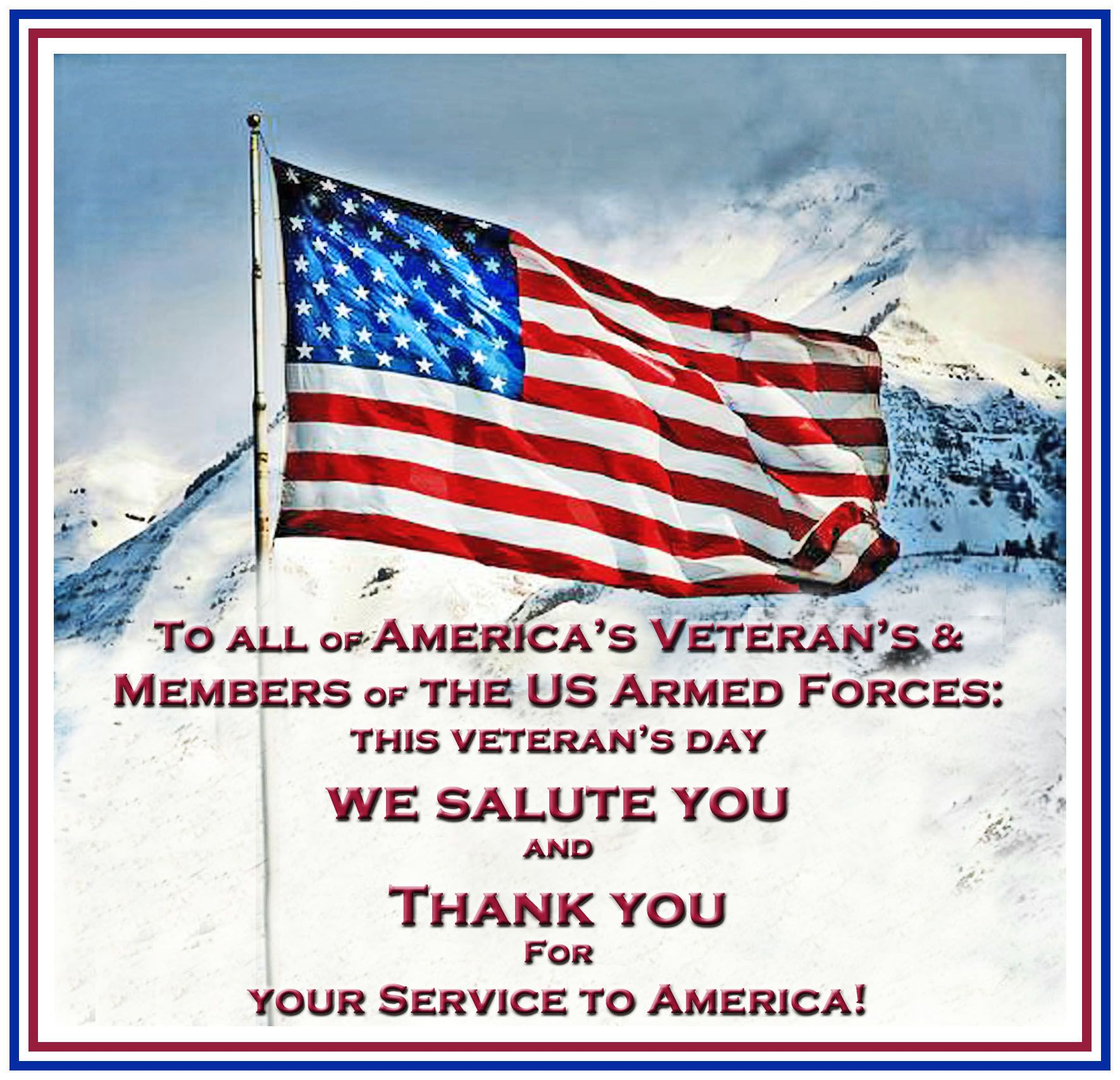 We Salute Your And Thank You For Your Service To America Veterans Day Happy Veterans Day Vet Veterans Day Quotes Happy Veterans Day Quotes Veterans Day Images