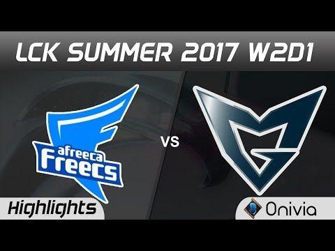 những pha xử lý hay AFS vs SSG Highlights Game 2 LCK SUMMER 2017 Afreeca  Freecs