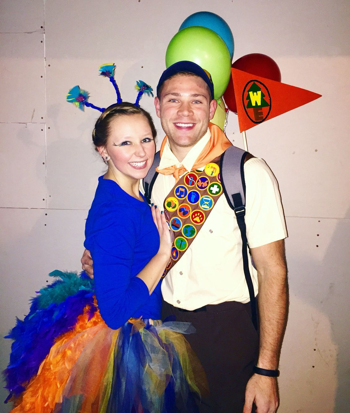 Russell and Kevin from Up Couples Halloween Costume ...