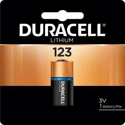 Duracell Duracell 123 High Power Lithium Battery 1 Pack 004133366191 The Home Depot Duracell Duracell Batteries Lithium Battery