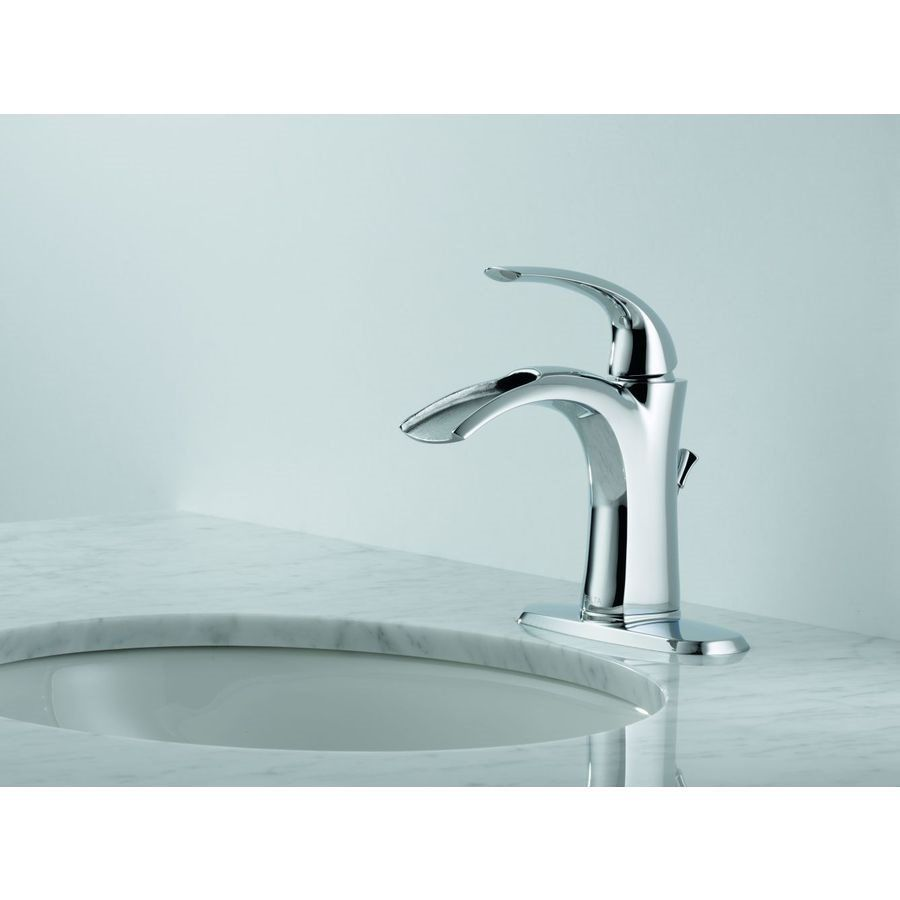 Shop Delta Faucet Delta Nyla Chrome 1-Handle Mounting Type ...
