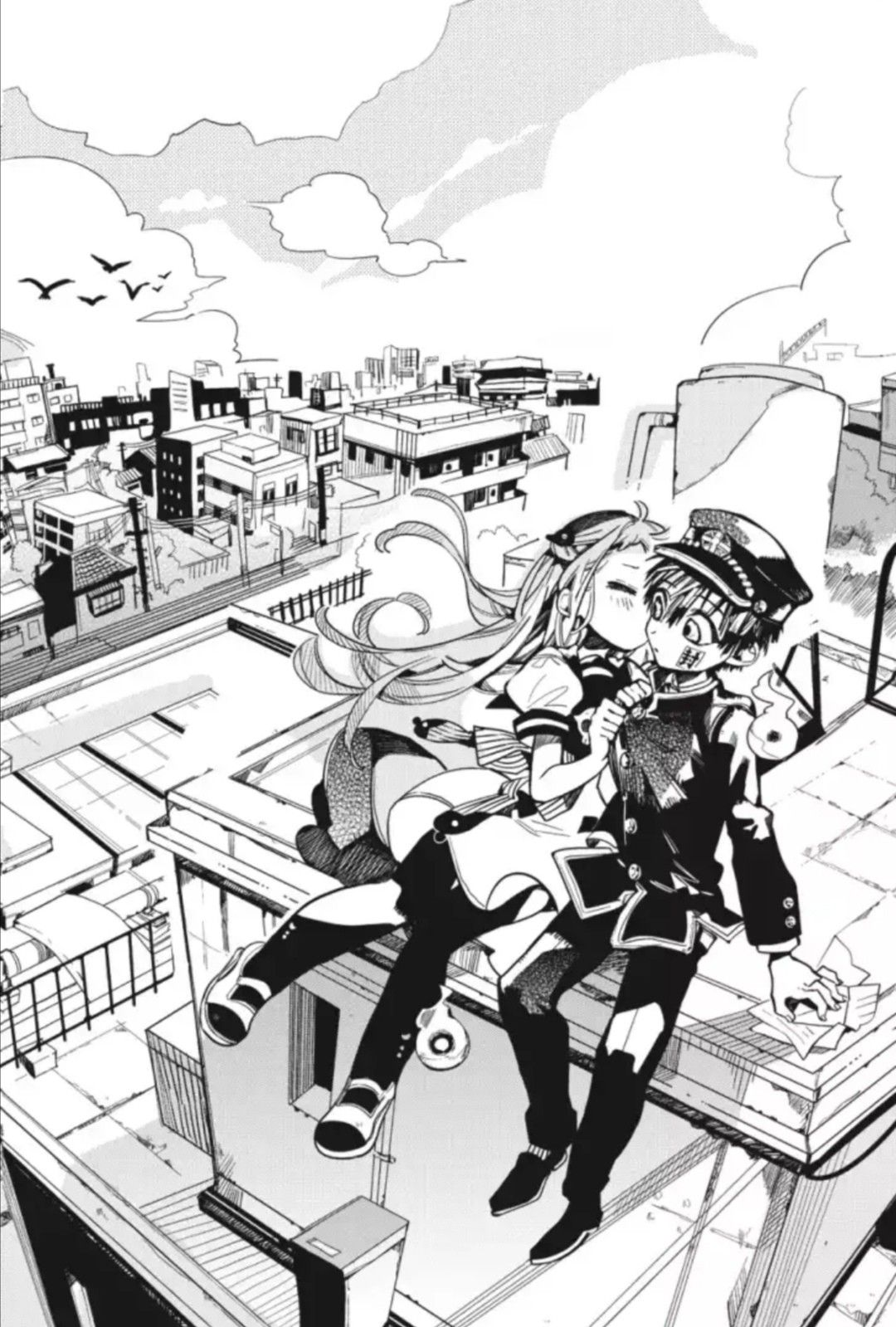 Ghim của Shao Monica trên Toilet bound hanako kun Anime