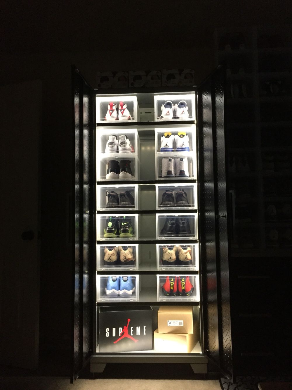 Jordans12 39 On Sneaker Displays Shoe Room Sneaker Storage