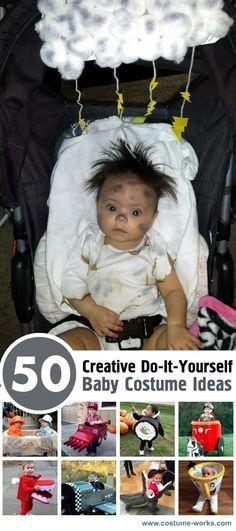 50 Creative DIY Baby Costume Ideas Pinterest Baby costumes, Diy - unique toddler halloween costume ideas