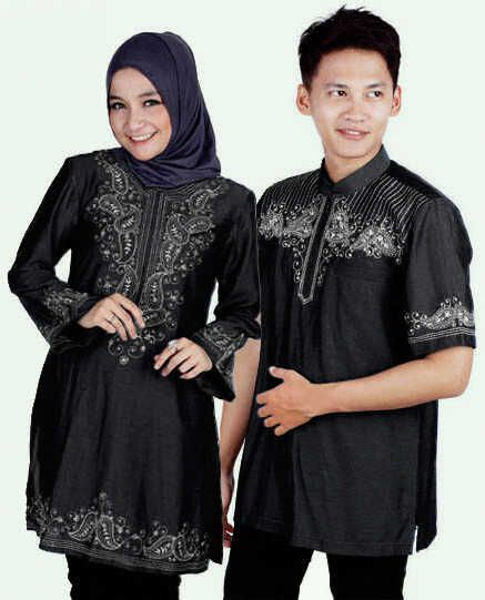baju muslim couple model tunik dan kemaja  a2c8af62a4