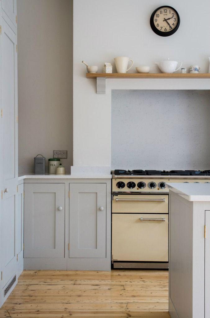 Eine vom skandinavischen Wald inspirierte Küche