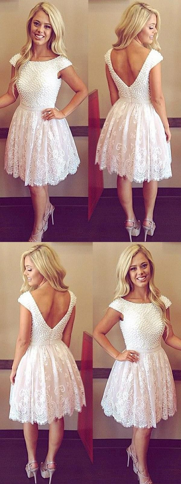 Outstanding prom dresses lace prom dresses aline homecoming dress