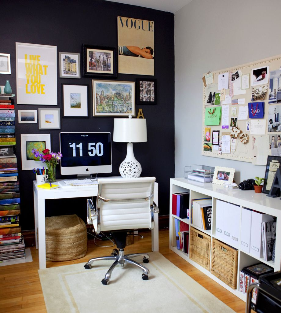 Work space envy, by Alaina Kaczmarski in House of Fifty Mag