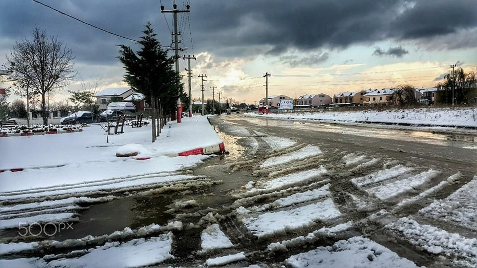 Sunset&Snow, Yalova Turkey by Tülay Bingöl 2 January
