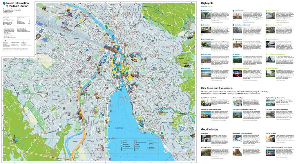 Zurich City Map Zurich City Map Zurich City Map Zurich