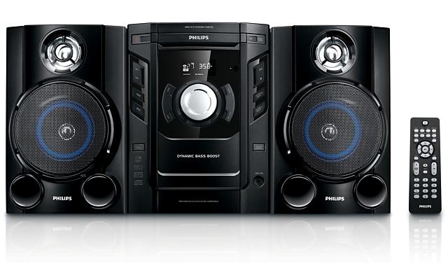 Mini System HiFi c/MP3 FWM153/55 Philips Hifi, Mini