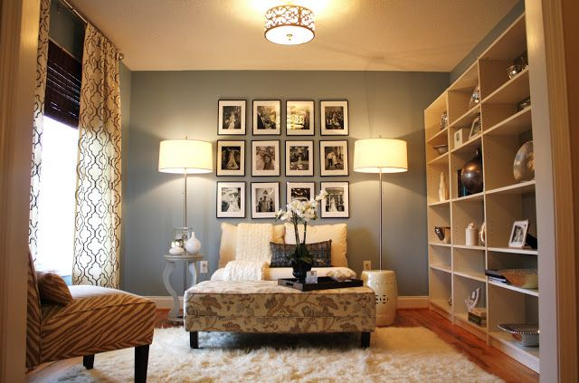 The Wall Color Is Santorini Blue By Benjamin Moore Emily