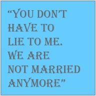 Dealing With Ex Husband After Divorce