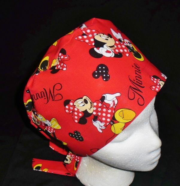 Minnie Mouse Scrub hat