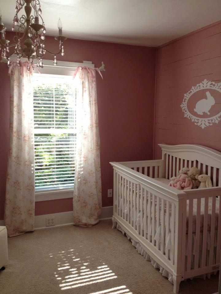 A beautiful nursery with our Shabby Chenille collection!