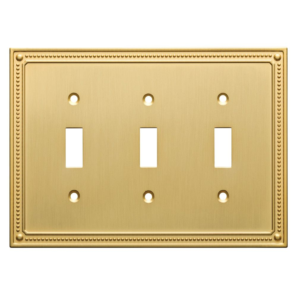 Classic Beaded Triple Switch Wall Plate | Products | Pinterest ...
