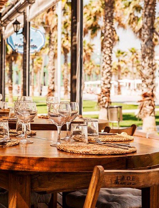 Las Terrazas Costeras De Moda Para Este Verano Mamarosa Beach Barcelona Hotel W Casas Frente Al Mar Terrazas