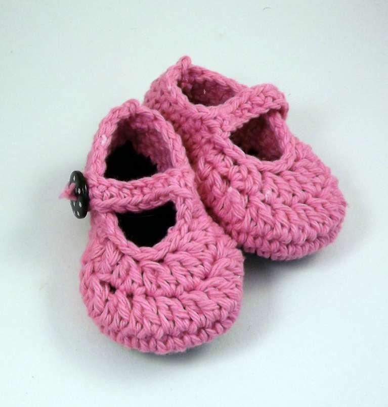 Babbucce per neonato a maglia (Foto)   PourFemme ...