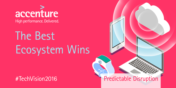Thanks to #cloud-enabled ecosystems, industry boundaries may be gone in 5yrs #TechVision2016 http://bddy.me/1QPjd2U