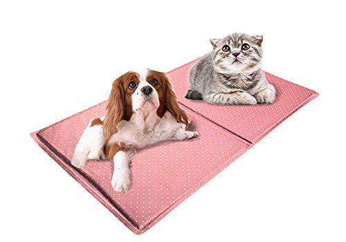 KYZ Pet Dog Chilly Mat Comfort Cooling Puppy Gel Pet Mat