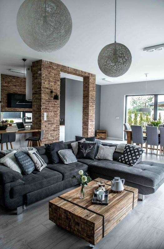 Interior design new at modern home also house living room designs rh pinterest