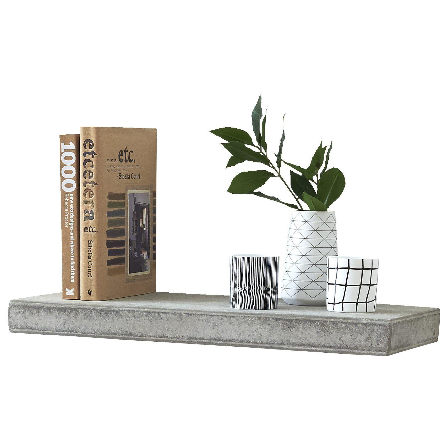 Forskellige GRANDEBOARD Cement hylde | House | Cement, Hylde og Opbevaring OJ05