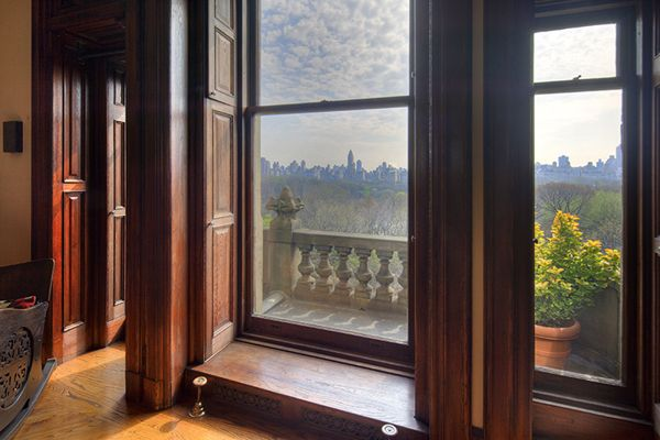 Central Park From The Dakota Apartments 1 West 72nd Street Central Park New York City Apartment Building Beautiful Architecture Architecture Details