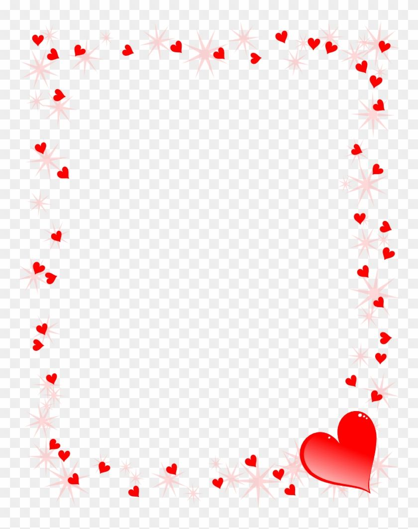 30++ Free clipart valentines day heart border ideas in 2021