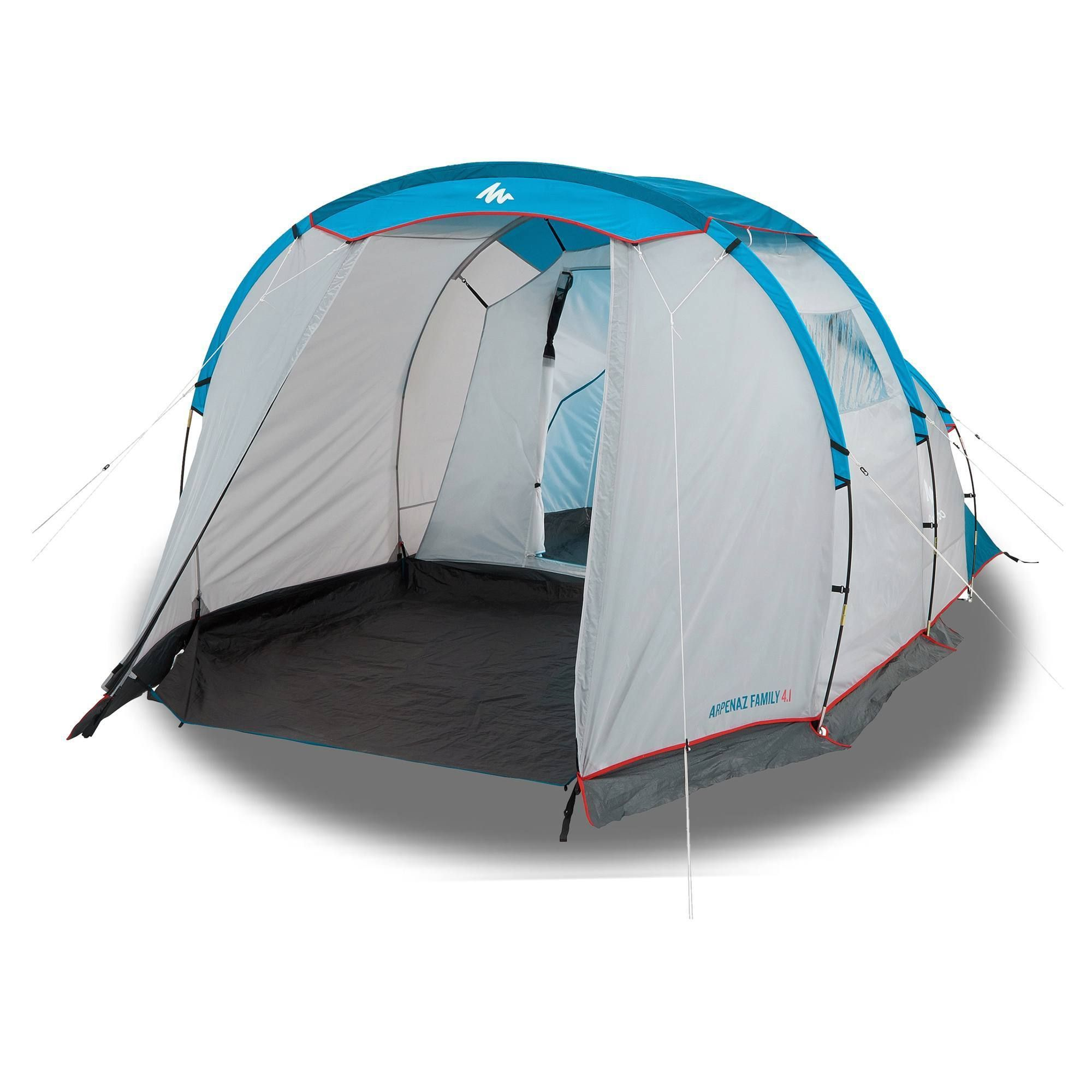 Quechua By Decathlon Arpenaz Camping Tent 4 1 4 People 1 Bedroom Walmart Com In 2020 Family Tent Camping Tent Tent Camping