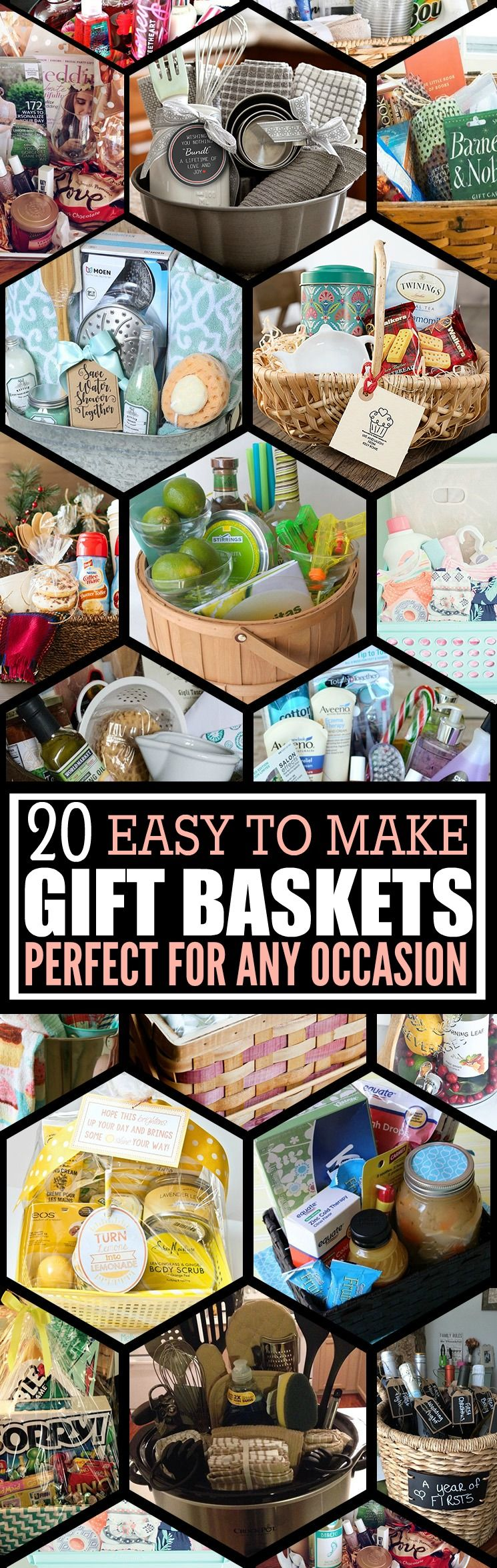 I love these diy gift basket ideas these diy gift baskets are i love these diy gift basket ideas these diy gift baskets are super easy to negle Choice Image