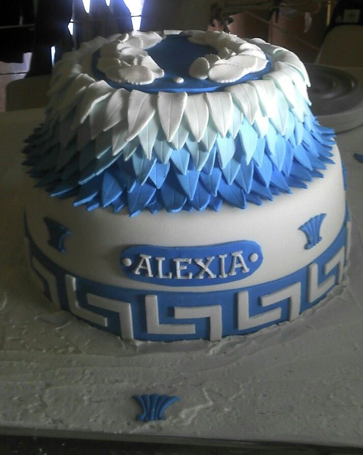 Greek Birthday Cake Its All To Me