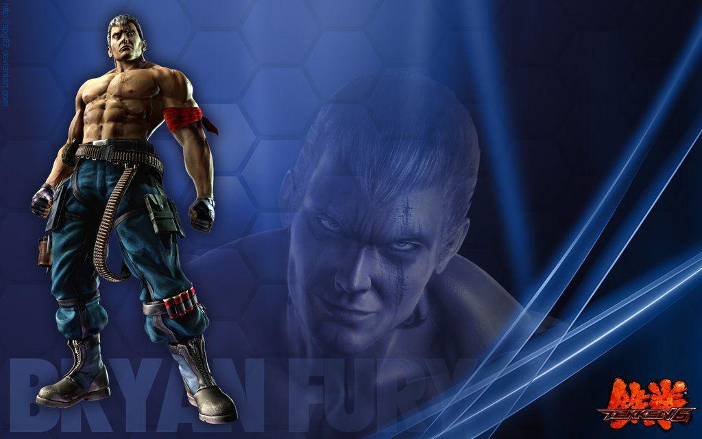 Bryan Fury Tekken 7 Wallpaper 8210 Bryan Fury Tekken 7