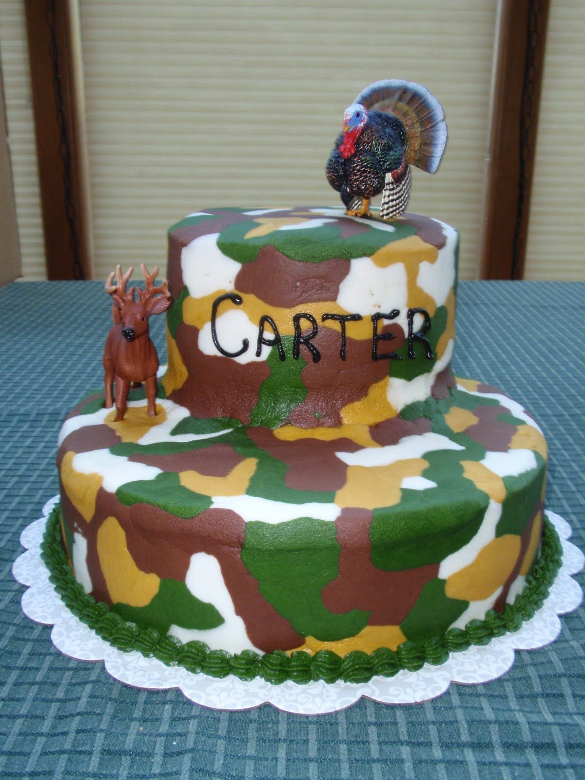 Camouflage Cake Idea For My Sons Birthday Beautiful Cakes