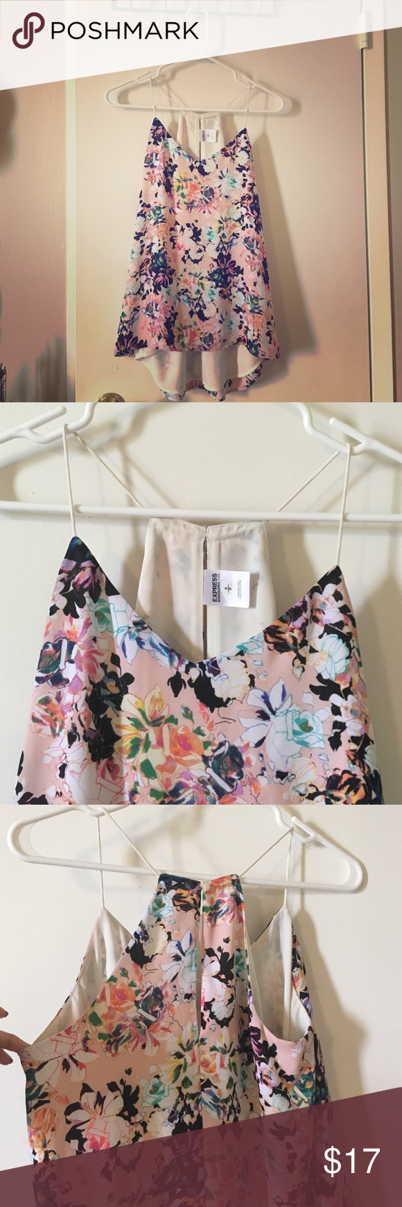 ✨SALE! Express floral top Lovely floral pattern summer top from Express Express Tops