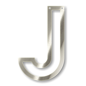 Acrylic Silver Mirror Bunting Letter J Silver Mirrors Letter J Lettering