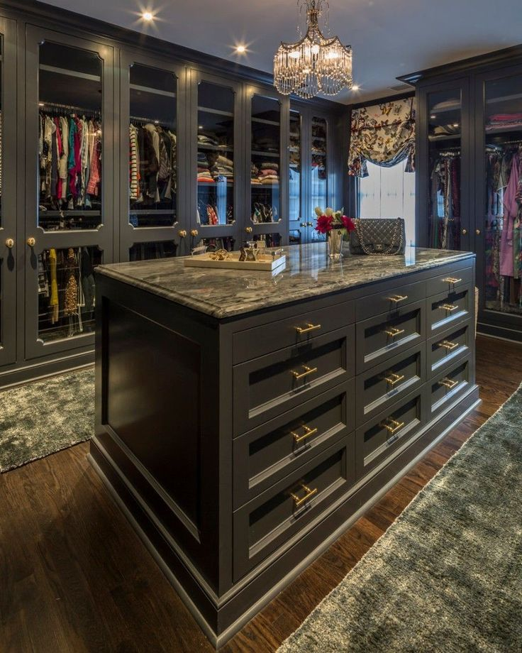14 begehbare Kleiderschränke für Luxusimmobilien #bedroomdesignminimalist