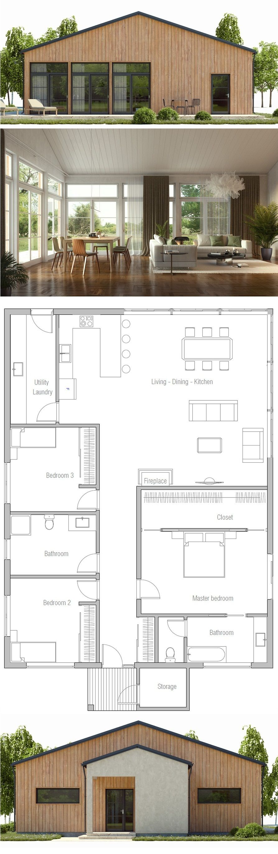 Home Plan Great Pin For Oahu Architectural Design Visit Http Ownerbuiltdesign Com Architecture House House Layouts Dream House Plans