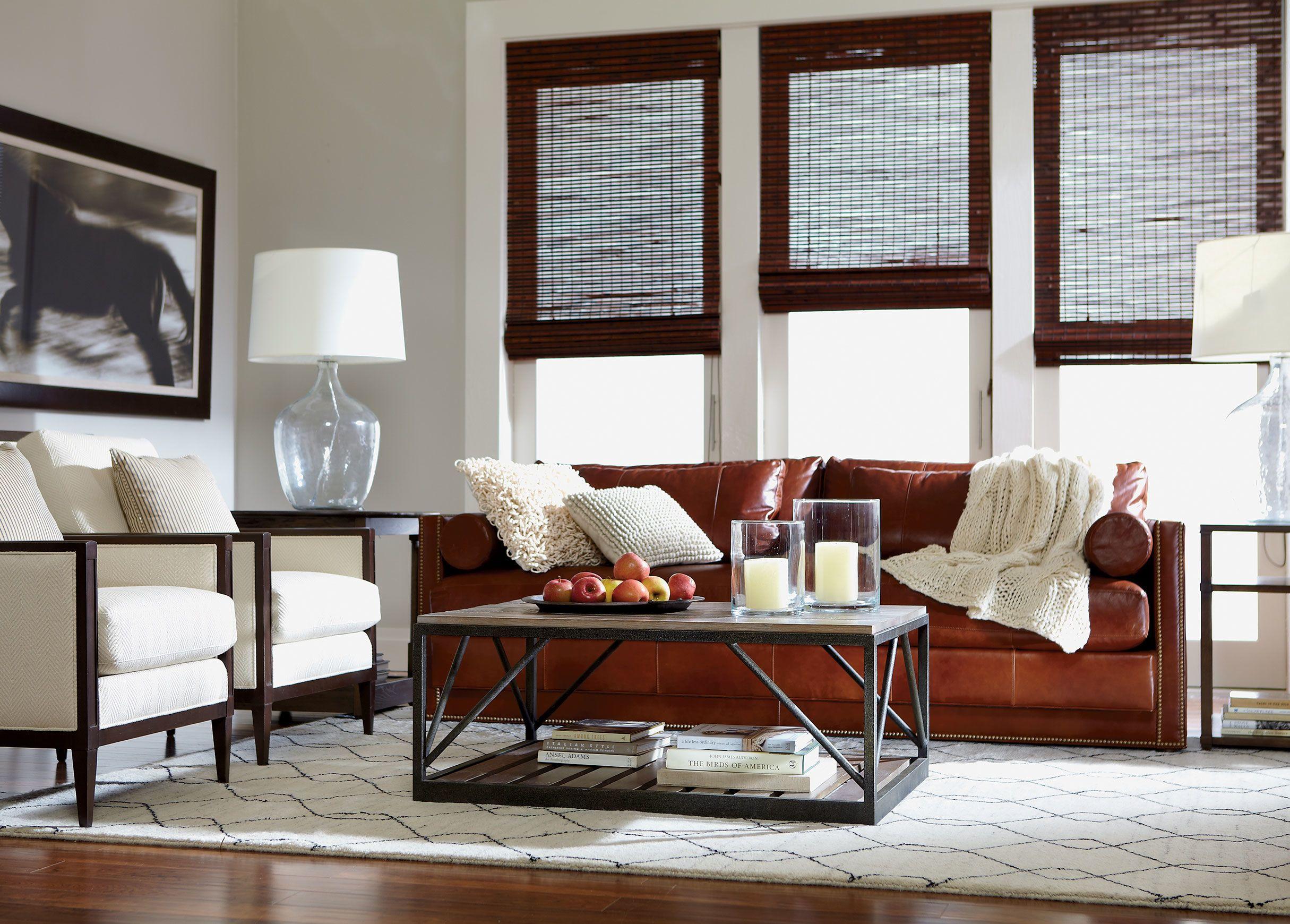 Abington leather sofa living room pinterest