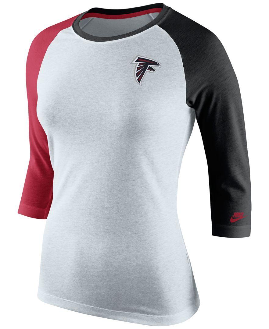 Nike Women s Atlanta Falcons Strong Side T-Shirt  a054579470
