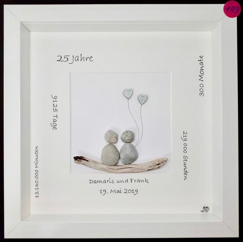 Stone Painting H149 Silver Wedding Stone Painting Silver Wedding Stone Pictures