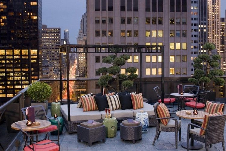 aménager une terrasse d\'appartement avec un mobilier outdoor en ...