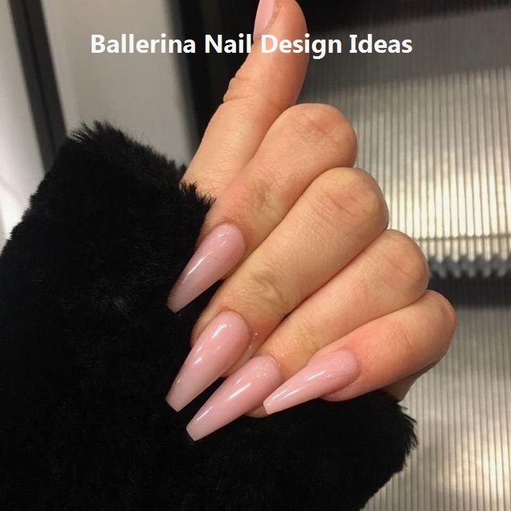 Trendy Ballerina Nail Art 2019 Nail Nailart Simple Acrylic Nails Dream Nails Pretty Acrylic Nails