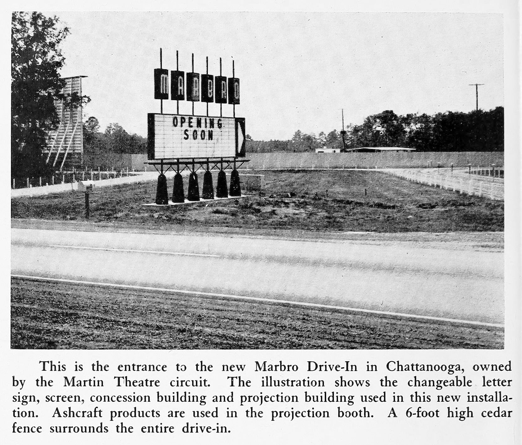Marbro Drive In Chattanooga