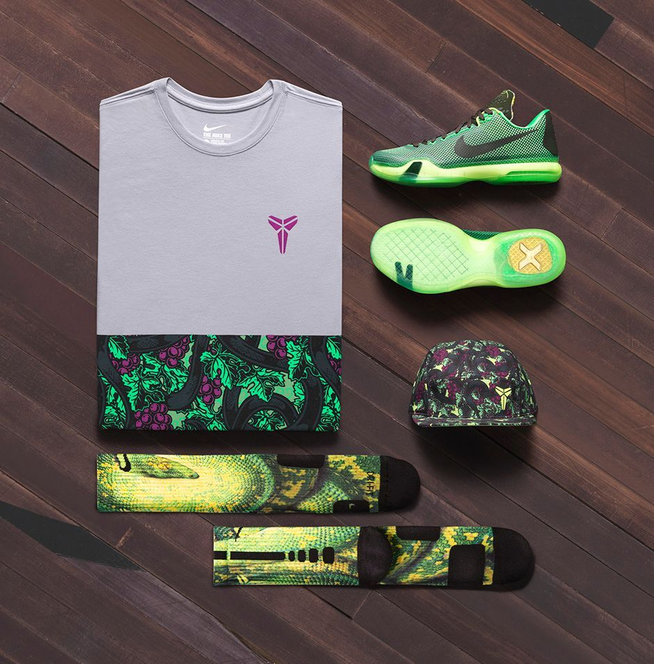 Nike Kobe X Vino collection