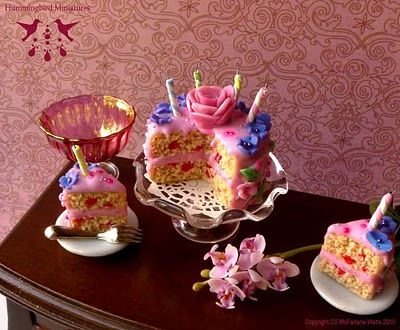 Midsummer Night's Dream Birthday Cake